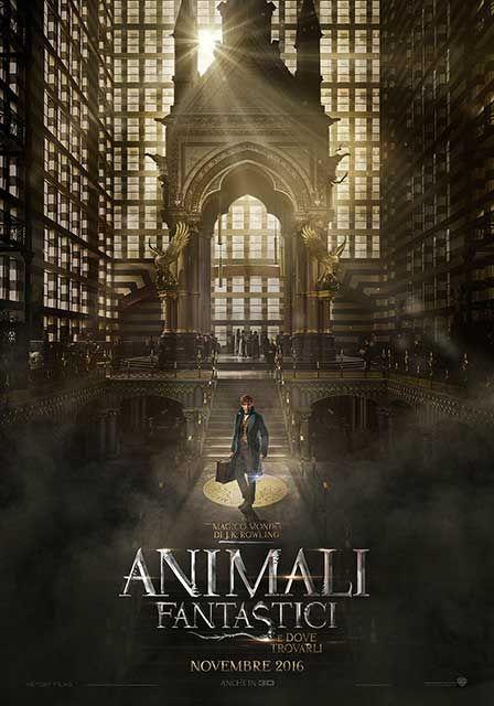 Newt Scamandro è arrivato al MACUSA nel teaser poster di Animali Fantastici e Dove Trovarli - Sw Tweens