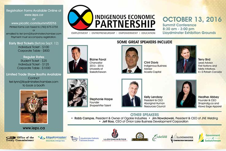 """Indigenous Economic Partnerships  Keynote speaker, Clint Davis, says """"Indigenous business is experiencing huge growth in Canada – demonstrating that we have always been entrepreneurs.""""  Since 2012, he has been Vice President, Aboriginal Banking at TD Bank Group, mandated with developing and implementing a national Indigenous banking strategy."""