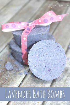 How to Make Your Own DIY Lavender Bath Bombs
