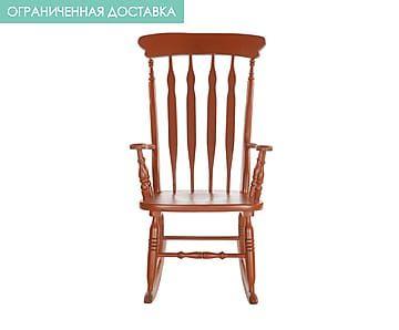 Кресло-качалка - дерево - красный - Ш59хД75хВ102
