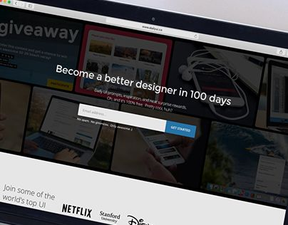 """Check out new work on my @Behance portfolio: """"Daily UI 100 - Daily UI Landing Page Redesign"""" http://be.net/gallery/50375077/Daily-UI-100-Daily-UI-Landing-Page-Redesign"""