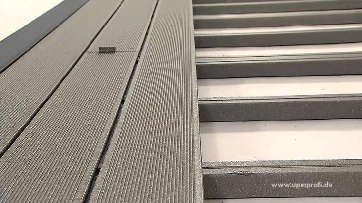 Wie verlegt man UPM ProFi Deck composite terrasse richtig? Sehen Sie das Video oder lesen Sie mehr über die Installation auf der www.upmprofi.de/wpc-verlegung/
