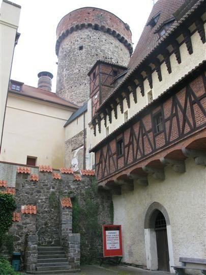 Tábor - entrance to the Kotnov Tower