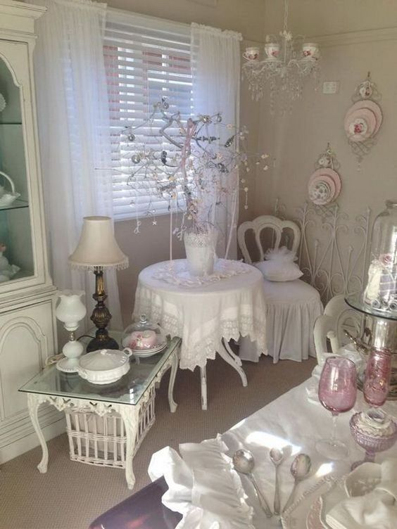 Pretty Shabby Chic Decoration Inspirations – Dessi Georgieva