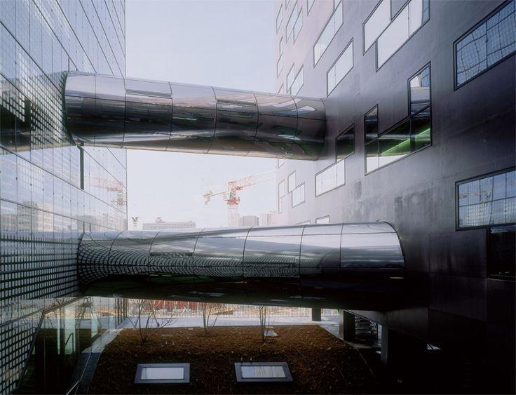 X-TU. Facultad de Química Edificio Lavoisier en París. Francia