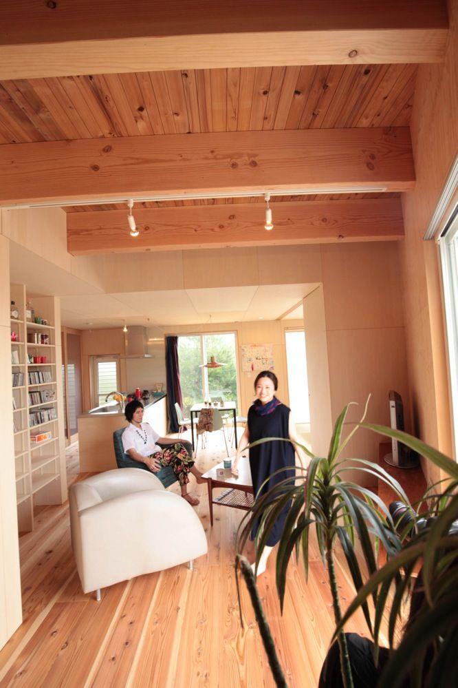 リビングデザインビューロ 木の家 リビング デザイン リビング