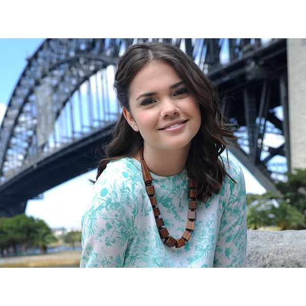 Meet Maia Mitchell ❤ liked on Polyvore featuring maia mitchell and pictures