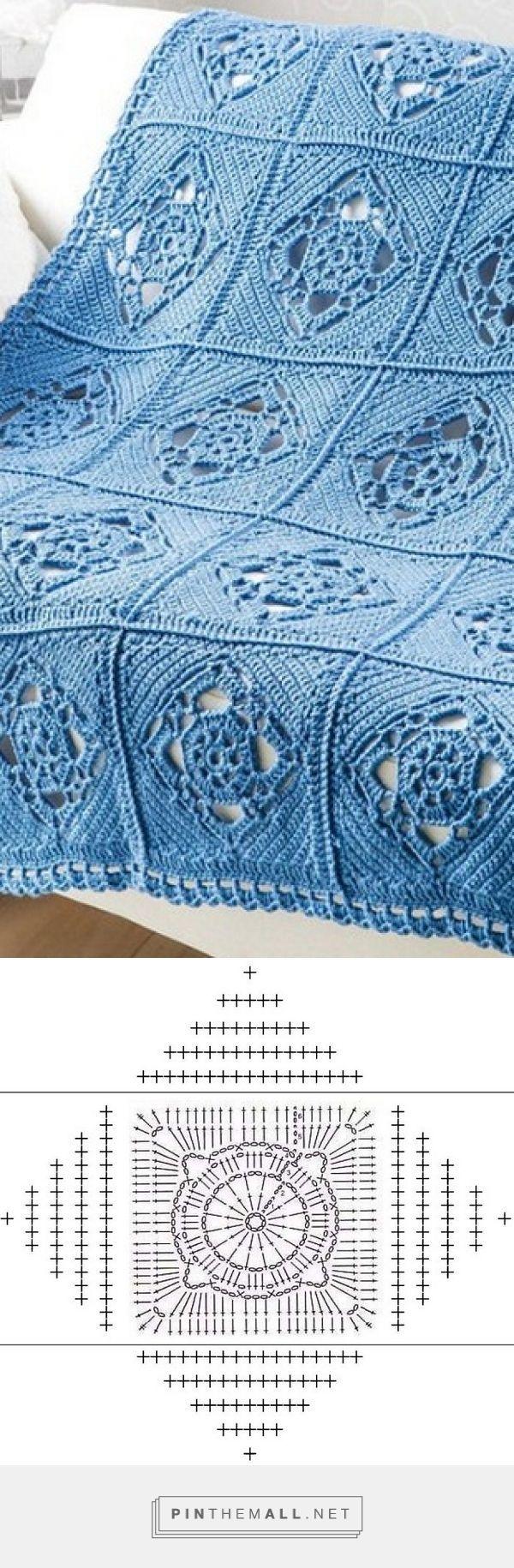 Pretty Openwork Motif - Free Crochet Diagram - (woman7)