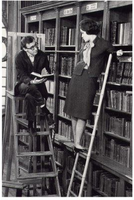 Love this glimpse into a library of another era.