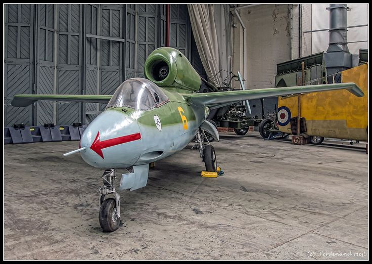 https://flic.kr/p/oMCueQ | Heinkel He 162 Volksjäger_IWM Duxford_England | Heinkel He 162 Volksjäger_IWM Duxford_England