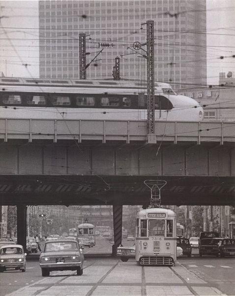 新橋 昔のイメージ