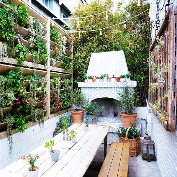 25 Patios We Could Live In Patio Living Wall Rooftop Patio