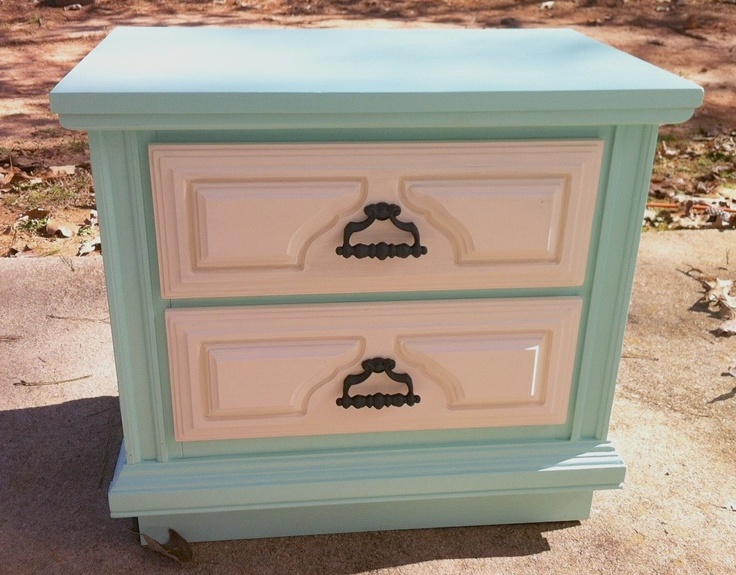 Two-Drawer Nightstand $46 - Griffin http://furnishly.com/two-drawer-nightstand-46.html