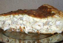 Вкуснейший пирог с грибами и курицей. Моя семья обожает!