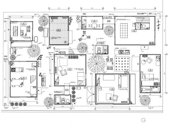 10 - Siheyuan - Moriyama House/s from 2005 sanaa_moriyama_house_plan (1)