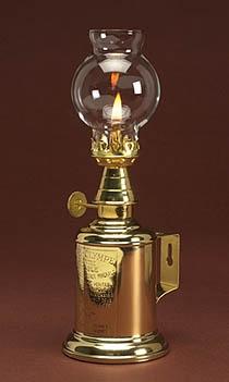 Vintner Lamp, Solid Brass