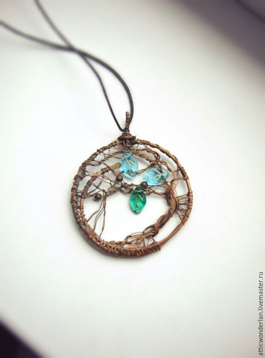 45 best handmade tree of life pendants images on pinterest wire pendants handmade fair masters handmade buy pendant wedding nymphs handmade copper audiocablefo