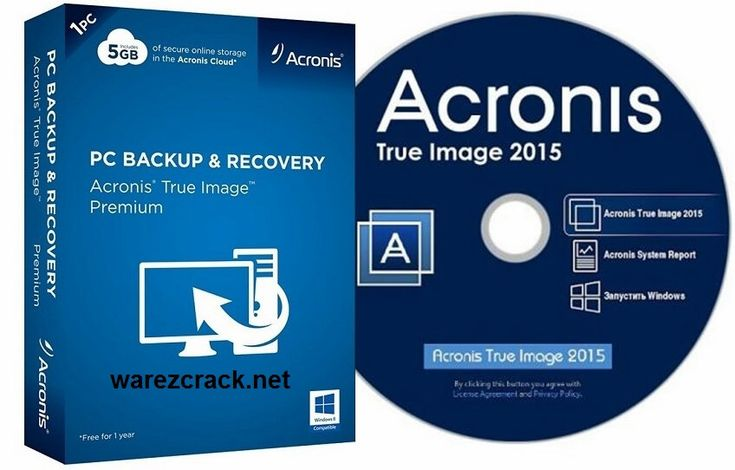 Acronis True Image 2015 Crack + Serial Key Full Free