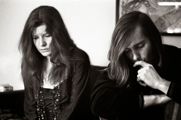 vintage everyday: Interesting Black-and-White Photos of Janis Joplin in 1968