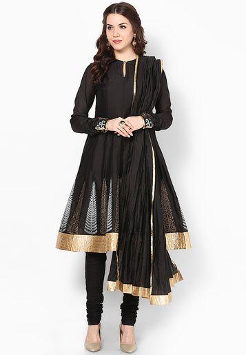 Rohit Bal For Jabong-Black Suit Set