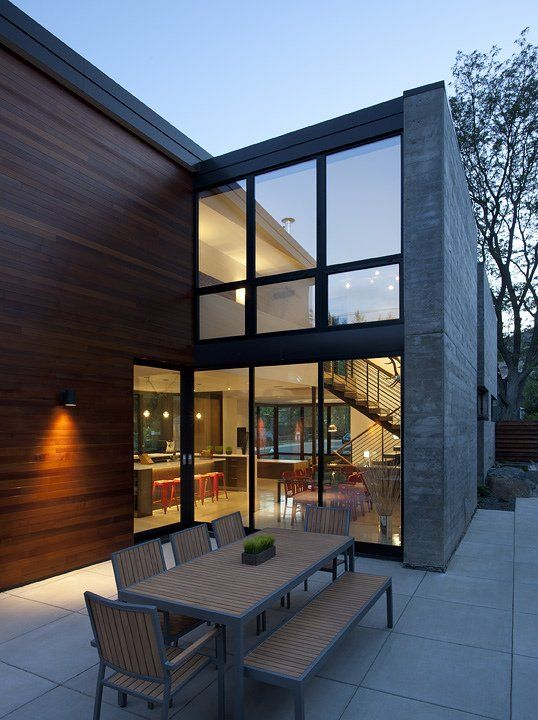 17 best images about modern house with slope roof on - Maison freshwater brewster hjorth architects ...