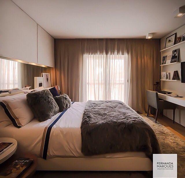 1000+ images about Dormitório Casal on Pinterest Madeira  ~ Quarto Casal Fernanda Marques