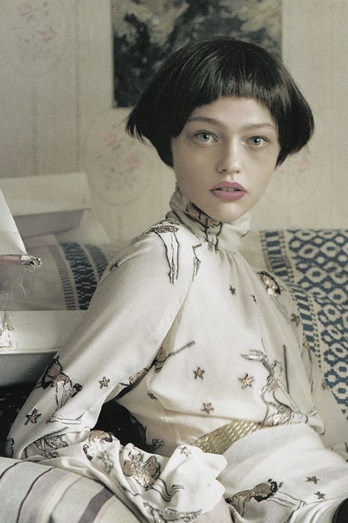 "pivoslyakova: Sasha Pivovarova in ""White Nights"" by Tim Walker..."