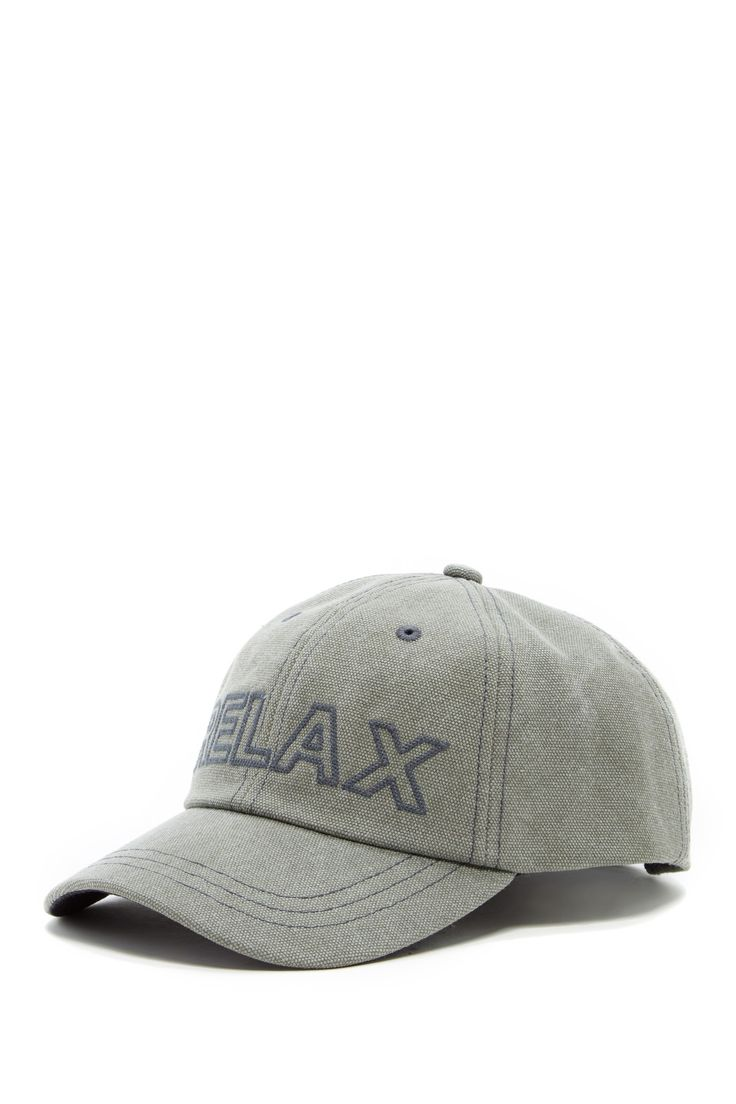 Relax Embroidered Cap