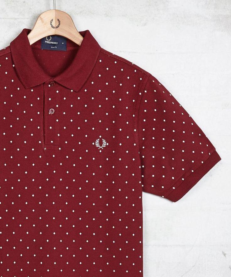Fred Perry - Diamond Dot Shirt