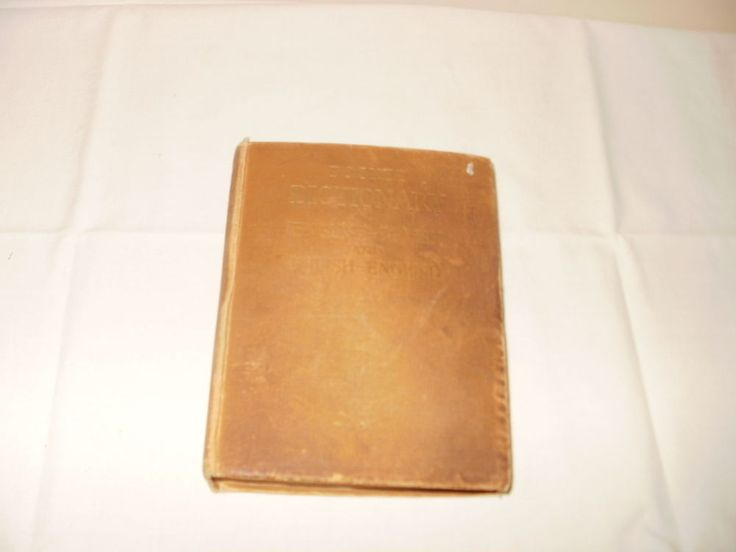 Antique Vintage Pocket Dictionary English to Polish to English 1947 Copyright
