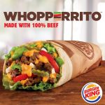 Part WHOPPER® Sandwich. Part Burrito. BURGER KING® Brand Launches Its WHOPPERRITO™ Nationally