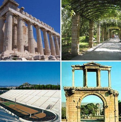 Topp 4 i Aten for førstegangere.