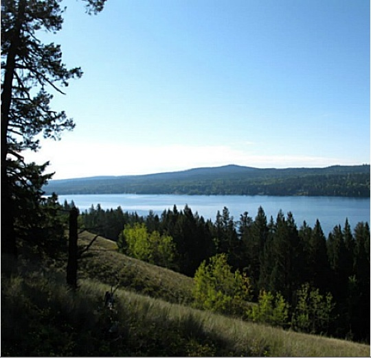 5Ac. South facing Horse Lake - 100 Mile House, BC -