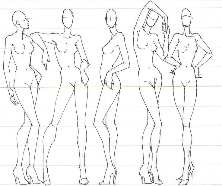 fashion illustration for designers illustrators shading figures