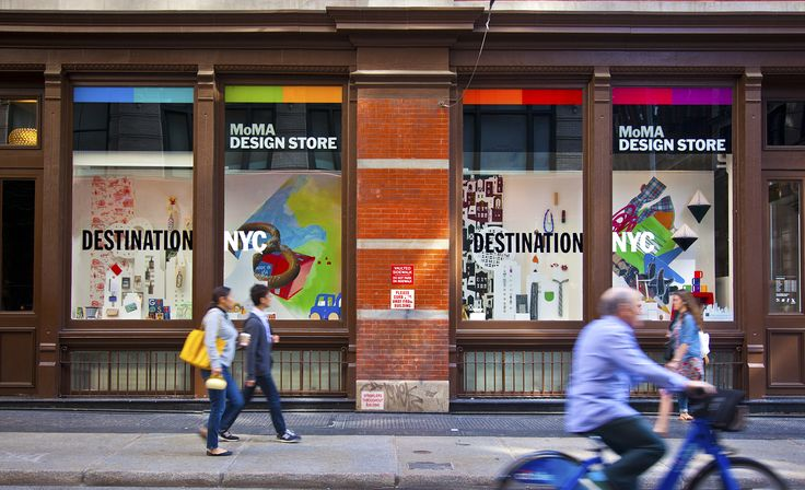 Located at the 44 West 53 Street, NYC is the incredible MOMA design Shop.