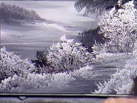 Боб Росс - Учимся рисовать серую зиму (7 сезон) - YouTube