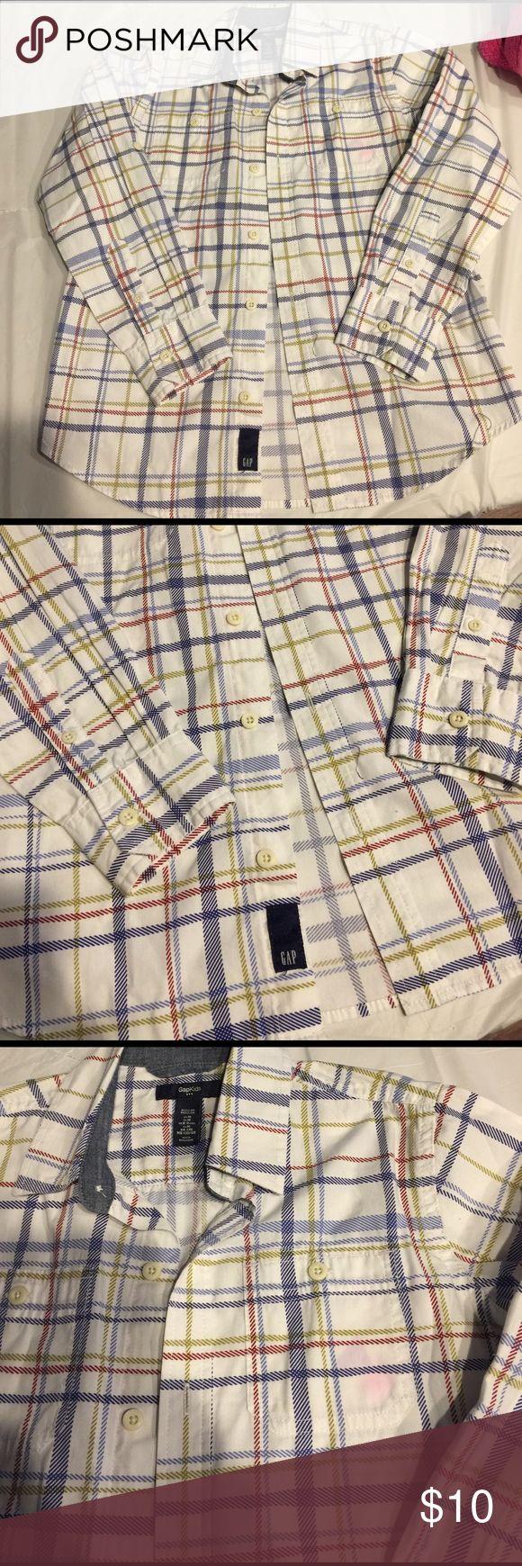 Gap kids boys shirt Gap kids boys shirt size 8-9 no trades GAP Shirts & Tops Polos