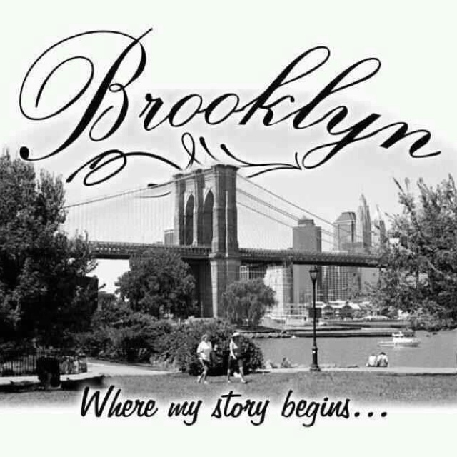 You can take the girl out of Brooklyn but you can't take the Brooklyn out of the girl! ;)