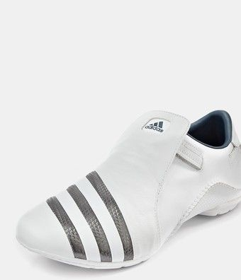 Adidas: Mactelo mens trainers white/grey
