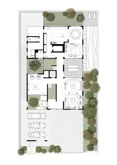 Image 16 of 18 from gallery of Box House / Ming Architects. Ground Floor Plan