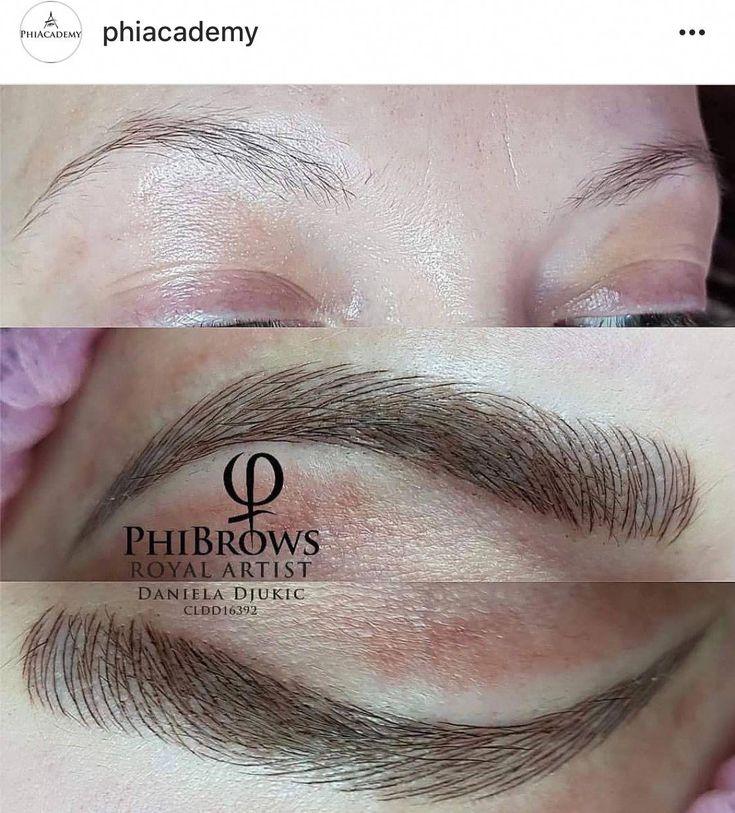 Eyebrow filler professional eyebrows getting my