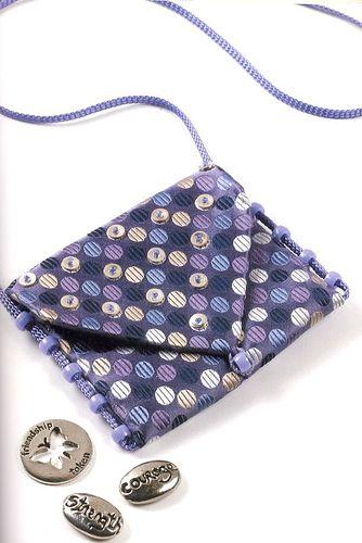 necktie pouch: Necktie Pouch, Flickr, Refashioned Neckties, Woof Nanny, Neckties Recycled, Amulet Pouch, Photo, Necktie Amulet