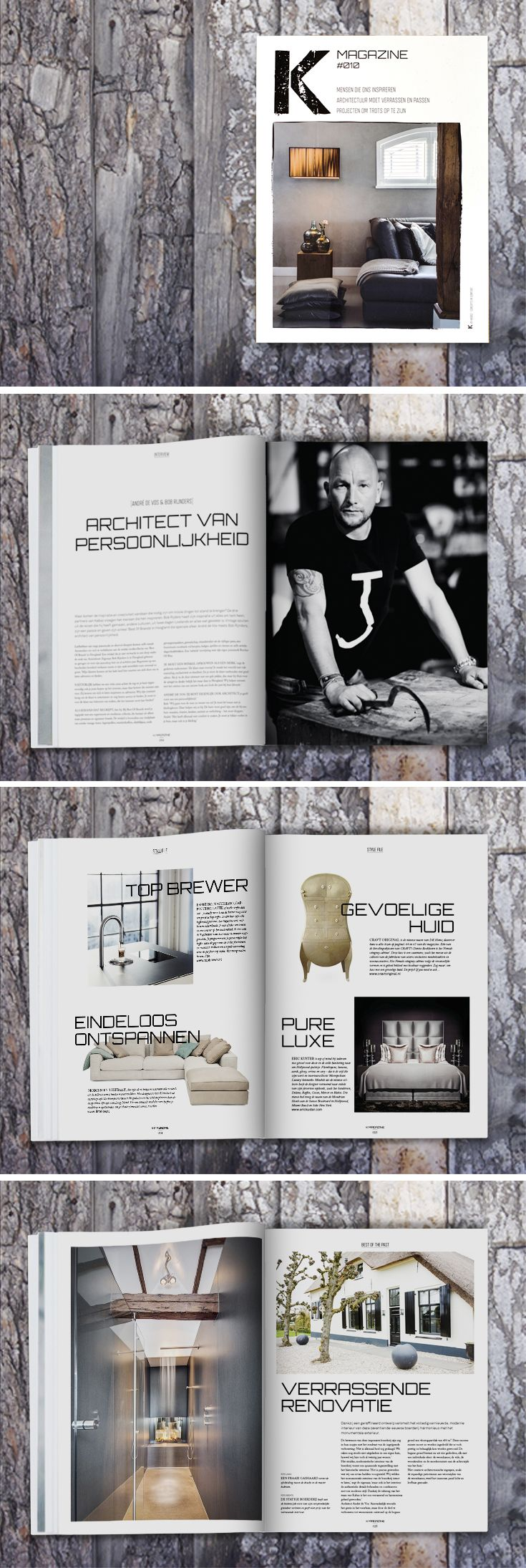 K-magazine, ontwerp lay-out en vormgeving #Magazine #Kabaz