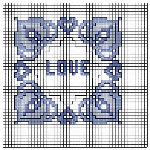INCORNICIANDO IN BLU -Blu framing-Encadrer en bleu