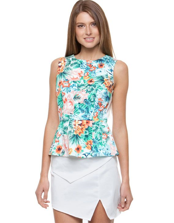 Mindy Tropicana Top by Forcast Online | THE ICONIC | AustraliaMindy Tropicana Top by Forcast Online | THE ICONIC | Australia