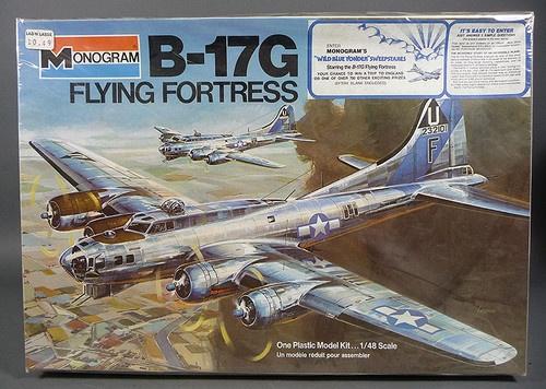 1975 Monogram B 17g Flying Fortress 1 48 Scale Plastic Model Kit 5600 SEALED | eBay