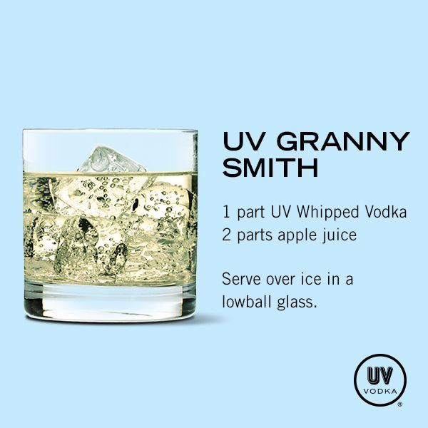 UV Vodka Recipe: UV Granny Smith interesting...