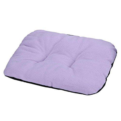 Pet Kennel Bed Cushion Sofa Dog Cat Sleeping Mat Soft Cosy Canvas Washable Warm