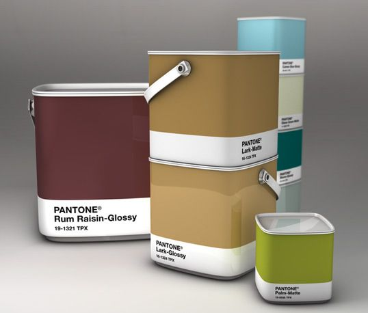 pantone paint concept by Samy Halim