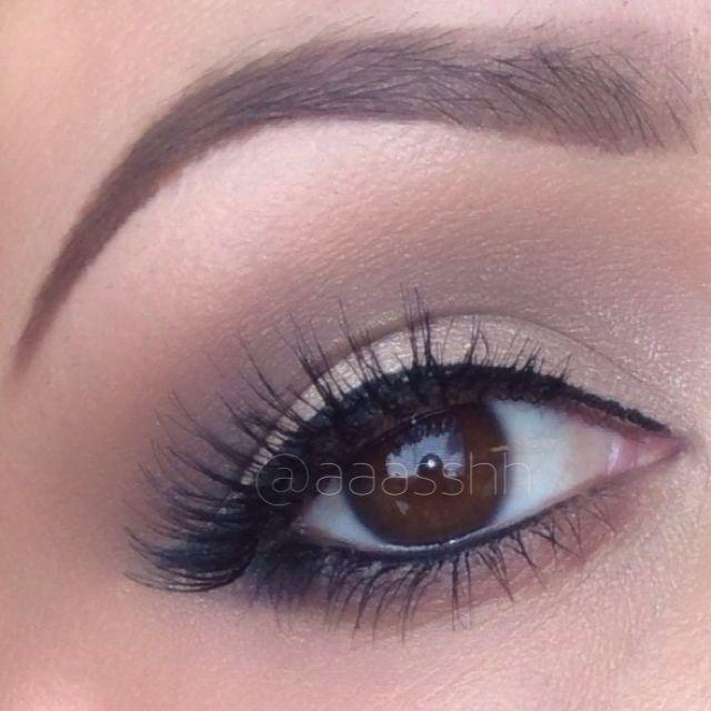Neutral Matte Eye Makeup for Fall IG: aaasshh YouTube Tutorials: AshleyVictoria